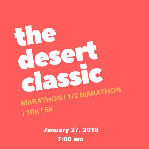 Desert Classic Marathon, Half Marathon, 10K and 5K Run @ Riverboat Village | Surprise | Arizona | United States